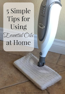 5 really simple tips for using essential oils at home for the essential oils beginner. It can be overwhelming deciding what oils to use where. This is a good place to start.