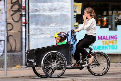 Копенгаген велосипедный город