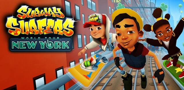 Subway Surfers v1.20.0 Apk Mod [New York Edition / Unlimited Coins e Keys]