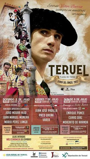 TERUEL (ESPAÑA) FERIA DEL ANGEL  2017. HOMENAJEN A VITOR BARRIOS.