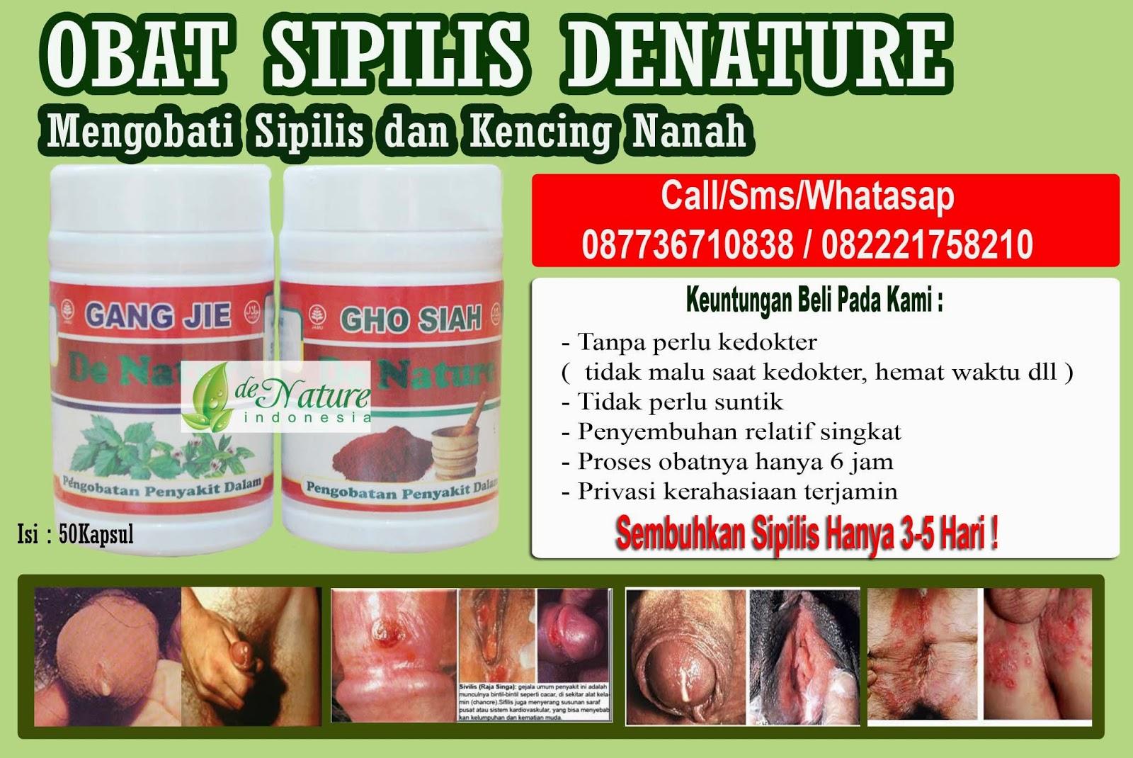 Obat Sipilis Raja Singa Herbal