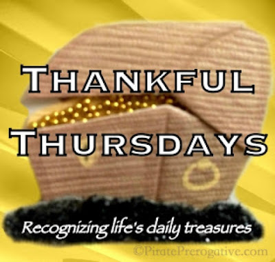 Thankful Thursdays via Pirate Prerogative