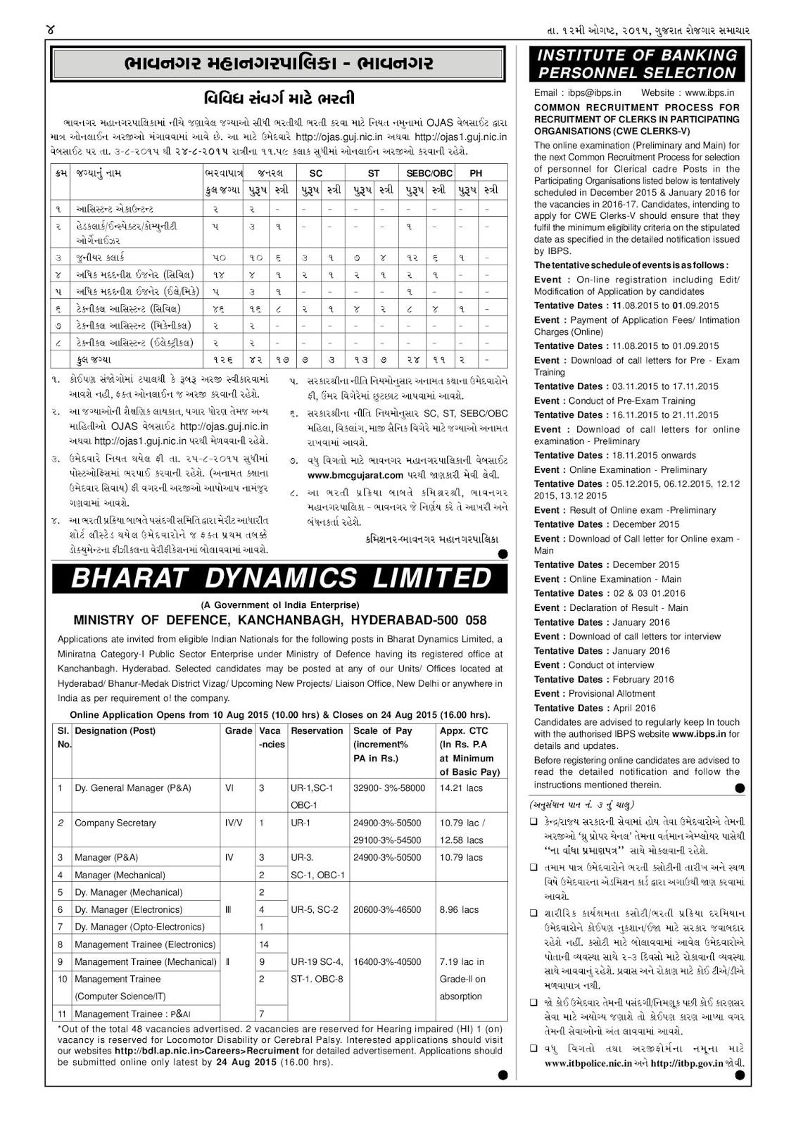rojgar samachar gujarati news paper pdf download