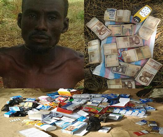 [PHOTO] Nigerian Troops Arrest Boko Haram Financier In Borno
