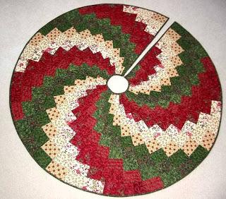My All: A Spiral Christmas Tree Skirt : quilted tree skirt tutorial - Adamdwight.com