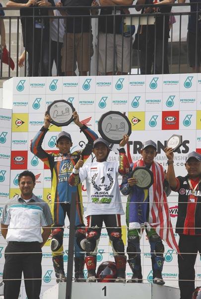 Hasil Race AARC Seri Taiwan 2012