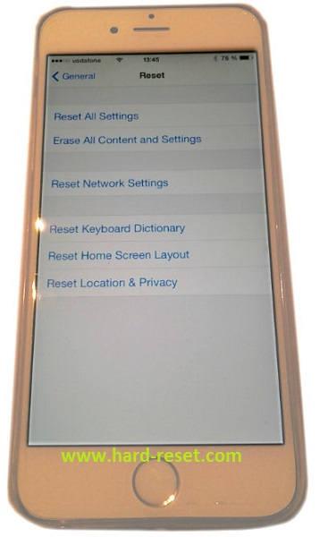 Как сделать жесткий ресет iphone - Vendservice.ru