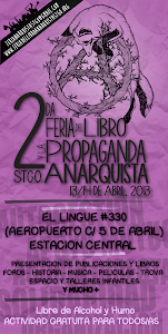 2da Feria del libro y la propaganda Anarquista