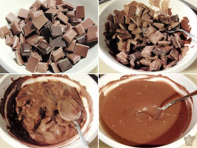 Derrite el chocolate