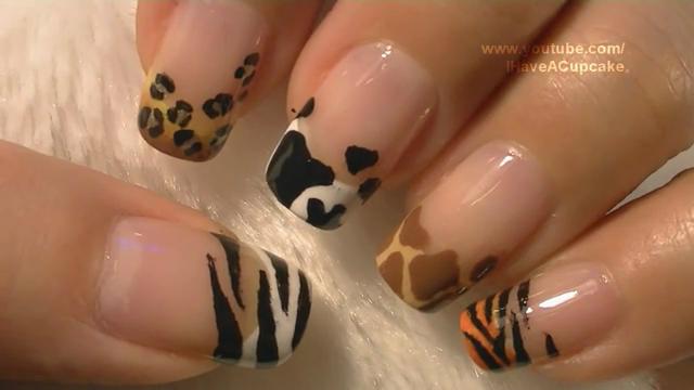 ... que acharam do tutorial de como fazer unhas decoradas de animais