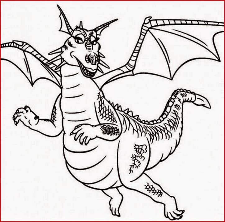 Female Dragon Coloring Pages Coloringfilminspector