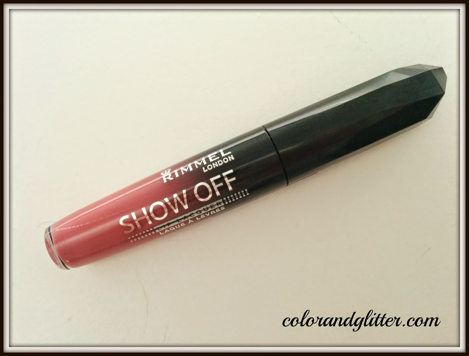 Rimmel Show off Lip Lacquer in Celestial