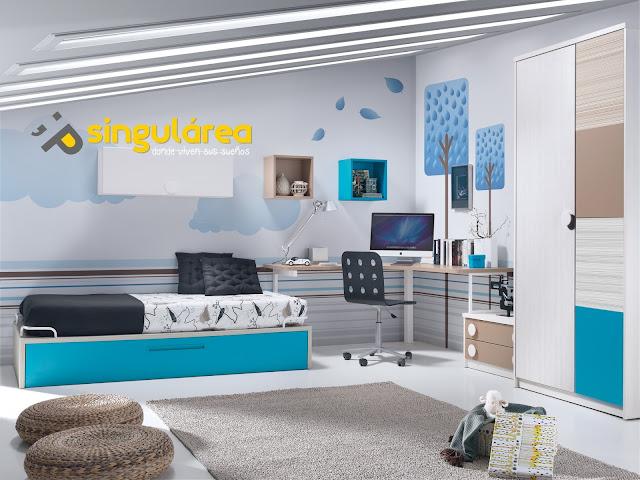 Dormitorio juvenil 605fm1320 muebles dormitorios - Dormitorios dobles juveniles ...