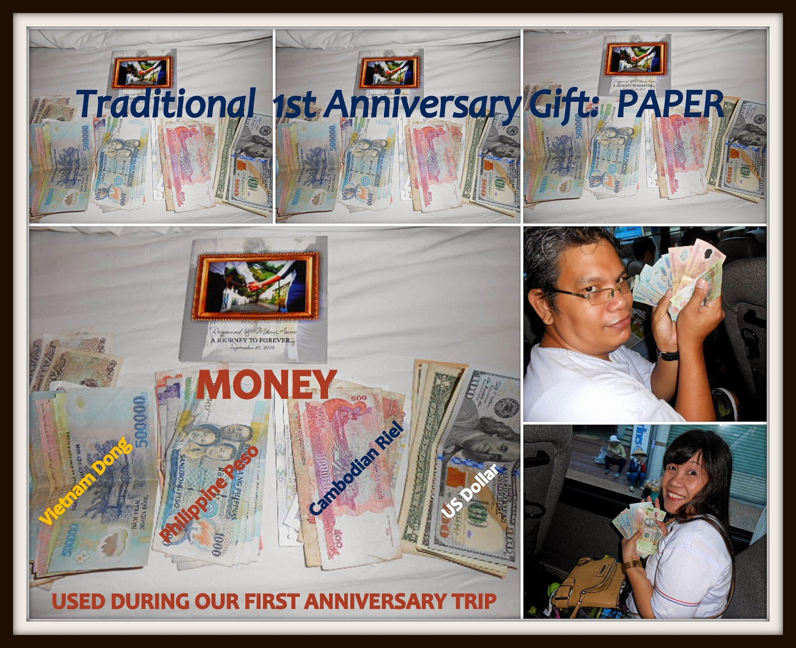 A Journey To Forever Paper Anniversary Gift Some Cool Way To Give