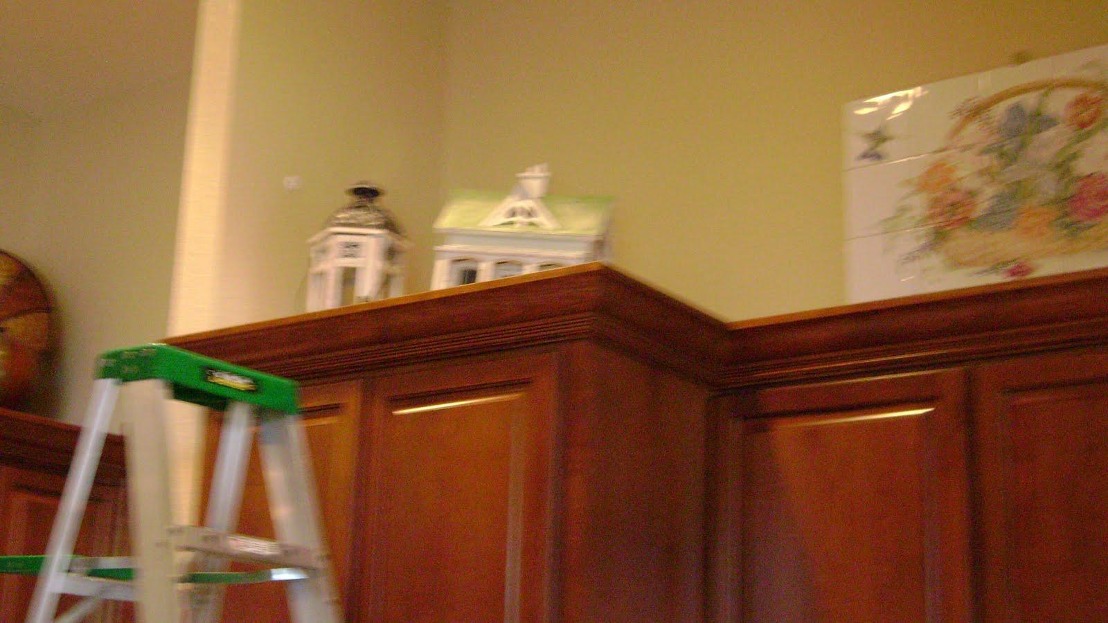 Cheryl Smith Associates Interior Design: Decorating Kitchen Cabinets