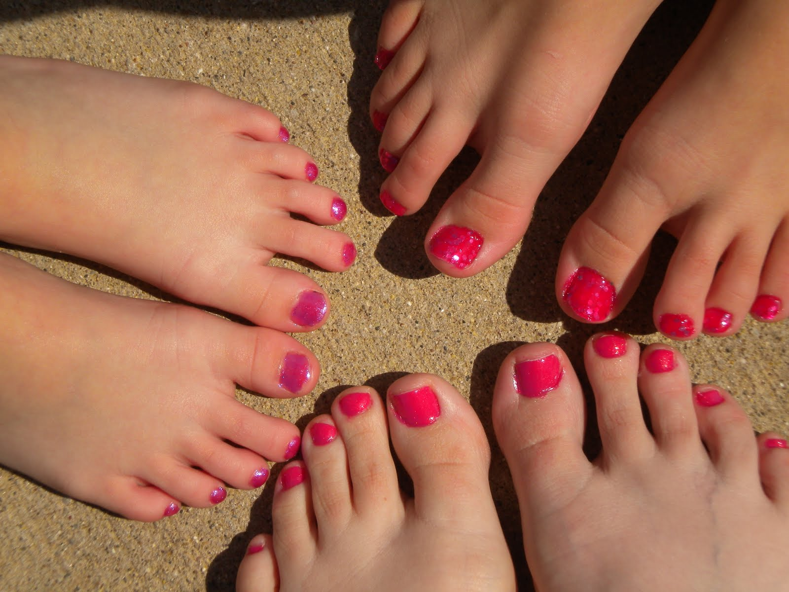 maybe you're the crazy one!: a family of pink toes, to kick breast