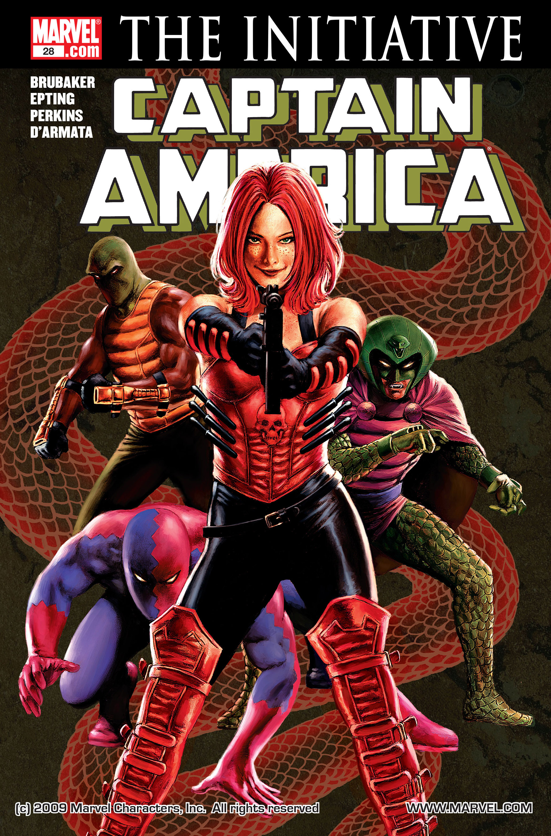 Captain America (2005) Issue #28 #28 - English 1