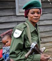 askar wanita kongo