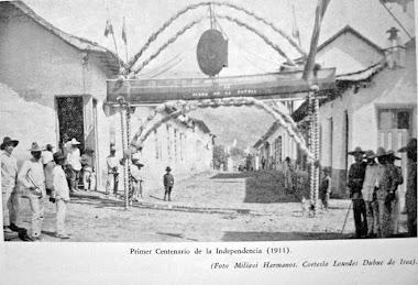 Boconó en 1911.