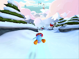 Club Penguin Sled Racer Gameplay 2