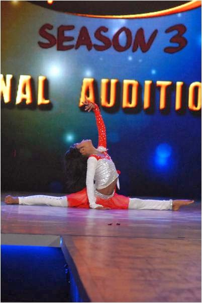 Rubber doll Aditi in DID Li'l Masters final audition