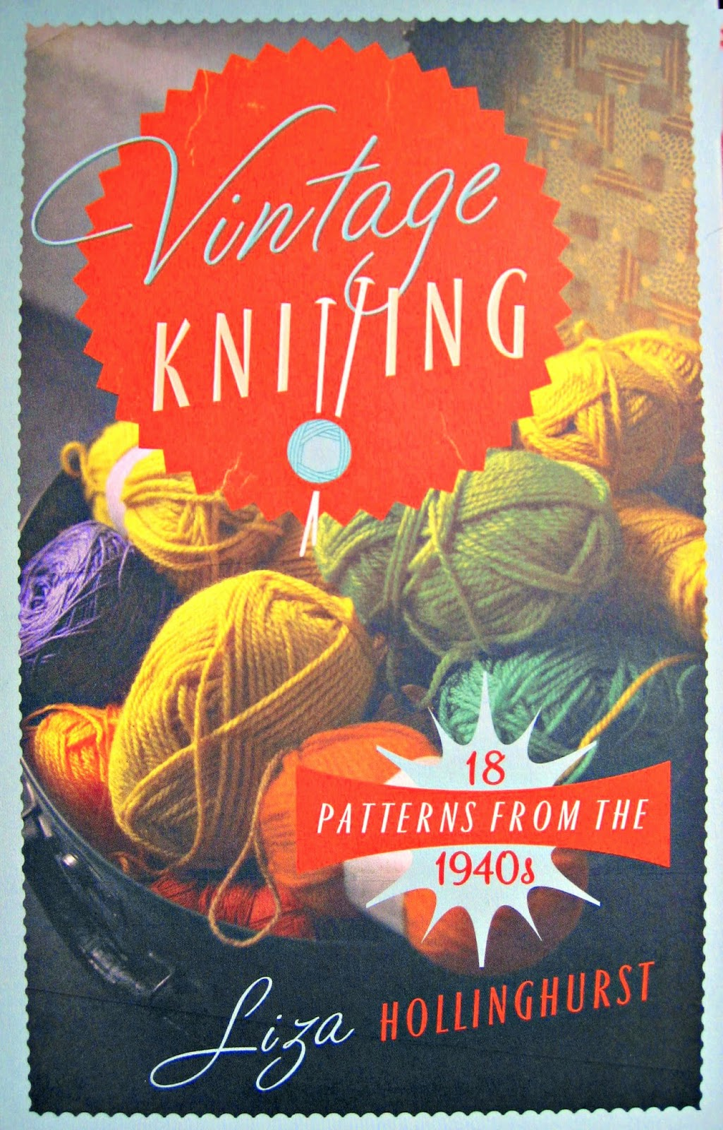 Vintage Knitting Books : The vintage knitter introducing knitting book