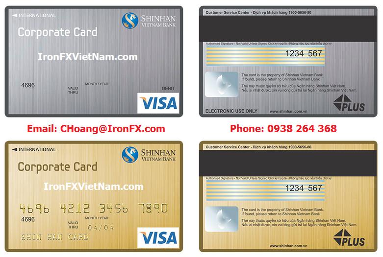Hướng dẫn nạp rút tiền IronFX bằng thẻ VISA
