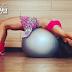 Dica de abdominal na bola por Marina Strazzer