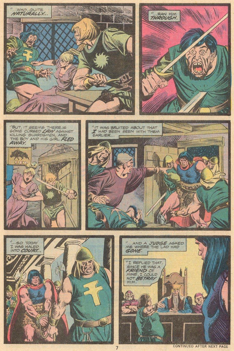 Conan the Barbarian (1970) Issue #58 #70 - English 6
