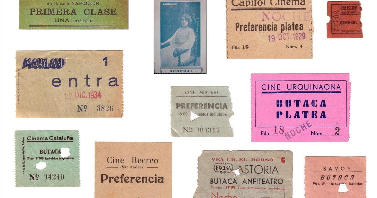 Cines barcelona primeros 50 a os del cine for Entradas cine barcelona