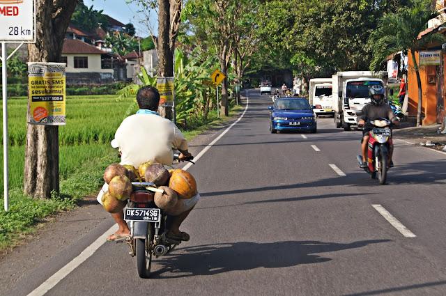 Motos en Bali