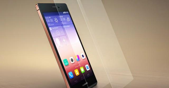 Huawei Ascend P7 Sapphire Edition chính thức ra mắt