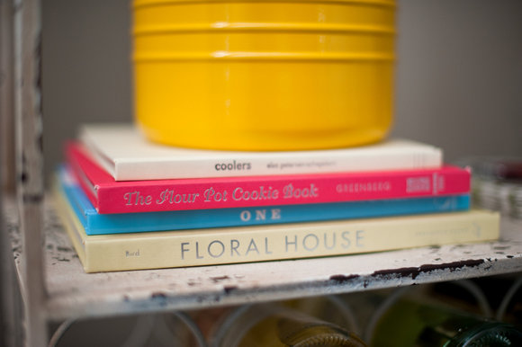 Drink books on your bar cart add an interesting style element.
