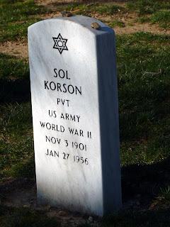 Judío enterrado en Arlington