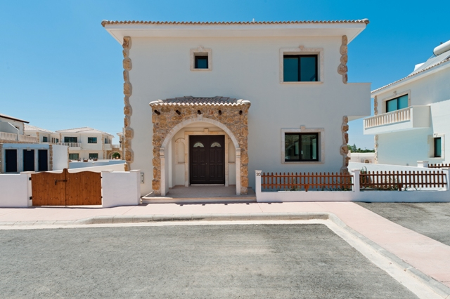 New Home Designs Latest Greek Cypriots Village Homes