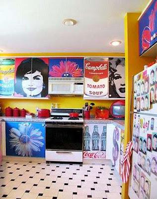cuisine pop art