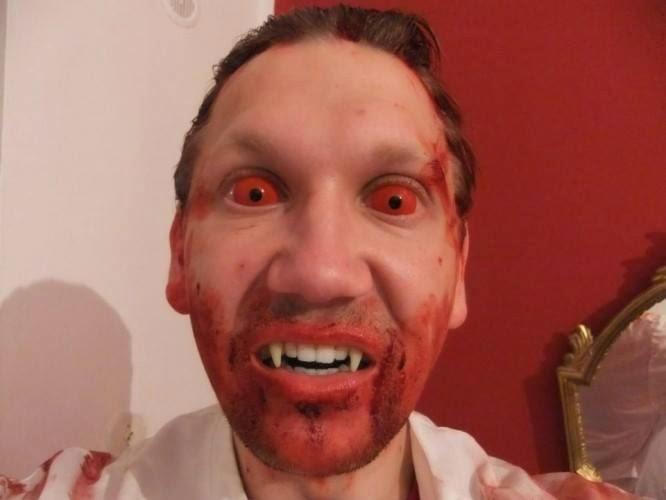 Blood & Gore Halloween Sclera Lenses: Full Eye Horrific Contact Lenses
