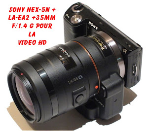 SONY NEX-5 POUR LA VIDEO