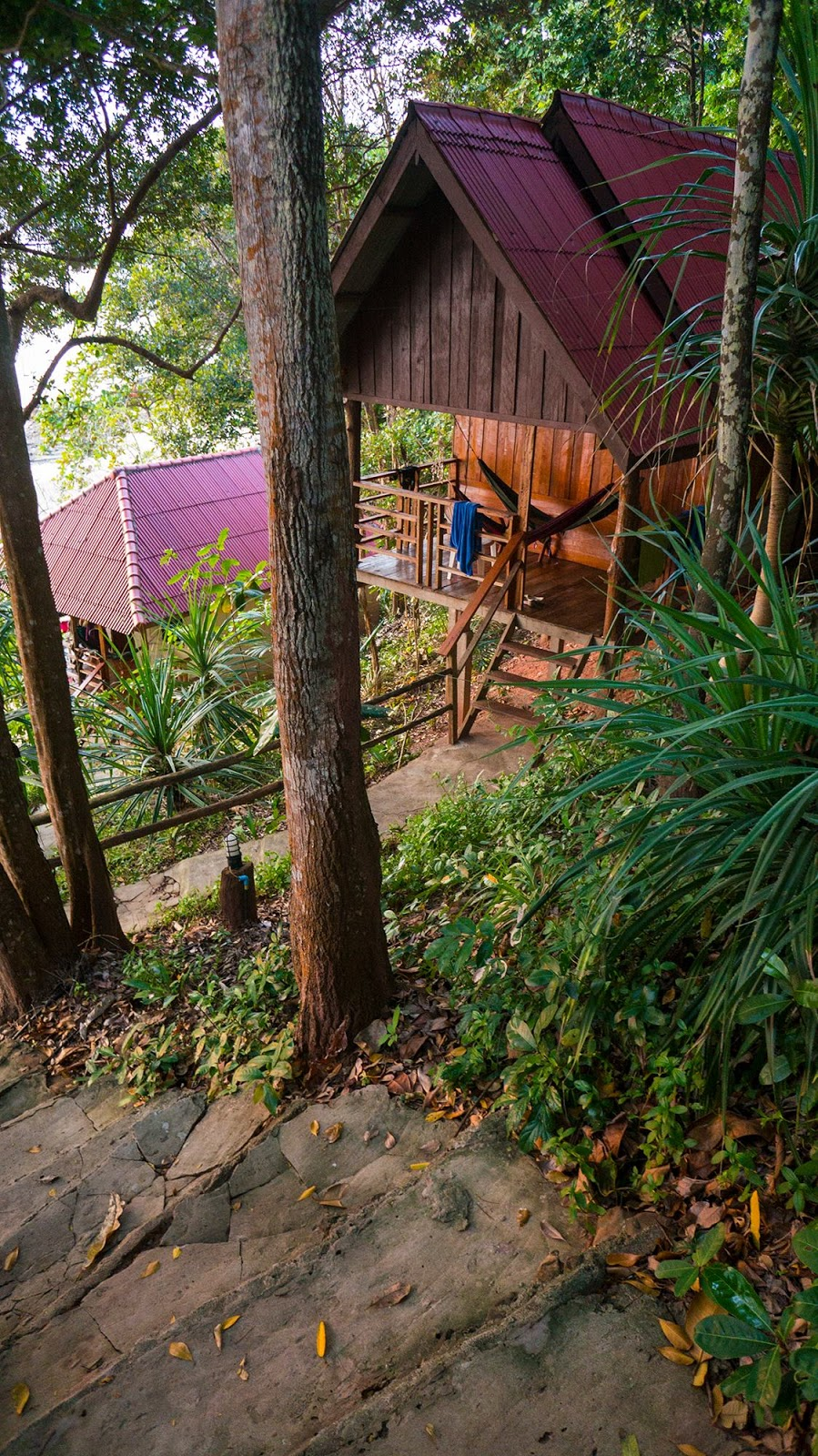 koh jum jungle hill bungalows