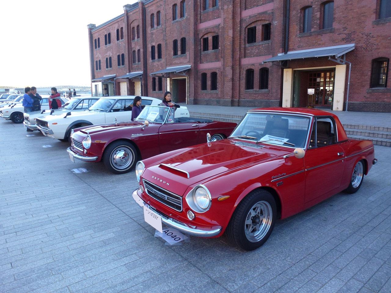 Nissan Skyline & Fairlady (Datsun Sports), roadster, klasyczny, stary, kultowy, JDM, zdjęcia
