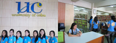 academic libraries, university of cebu, library, books, cebu city, educational tour, library tour, IT in libraries
