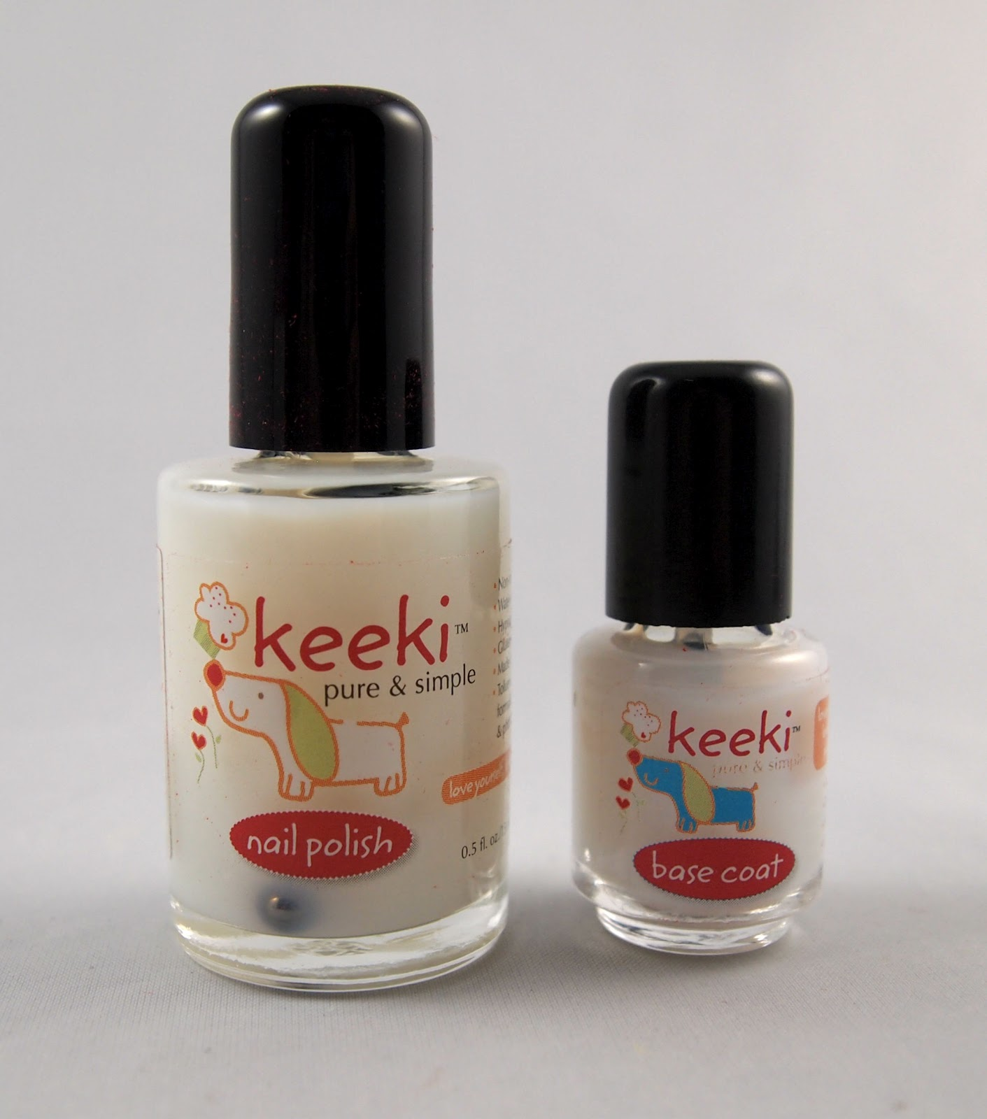 No Chip Nail Polish Reviews: Kaylin's Kit: Review: Keeki Nail Polish And Base Coat