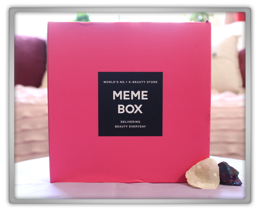 겟잇뷰티박스 by 미미박스 memebox beautybox # Memebox Special #76 The Empress's Secrets unboxing review box