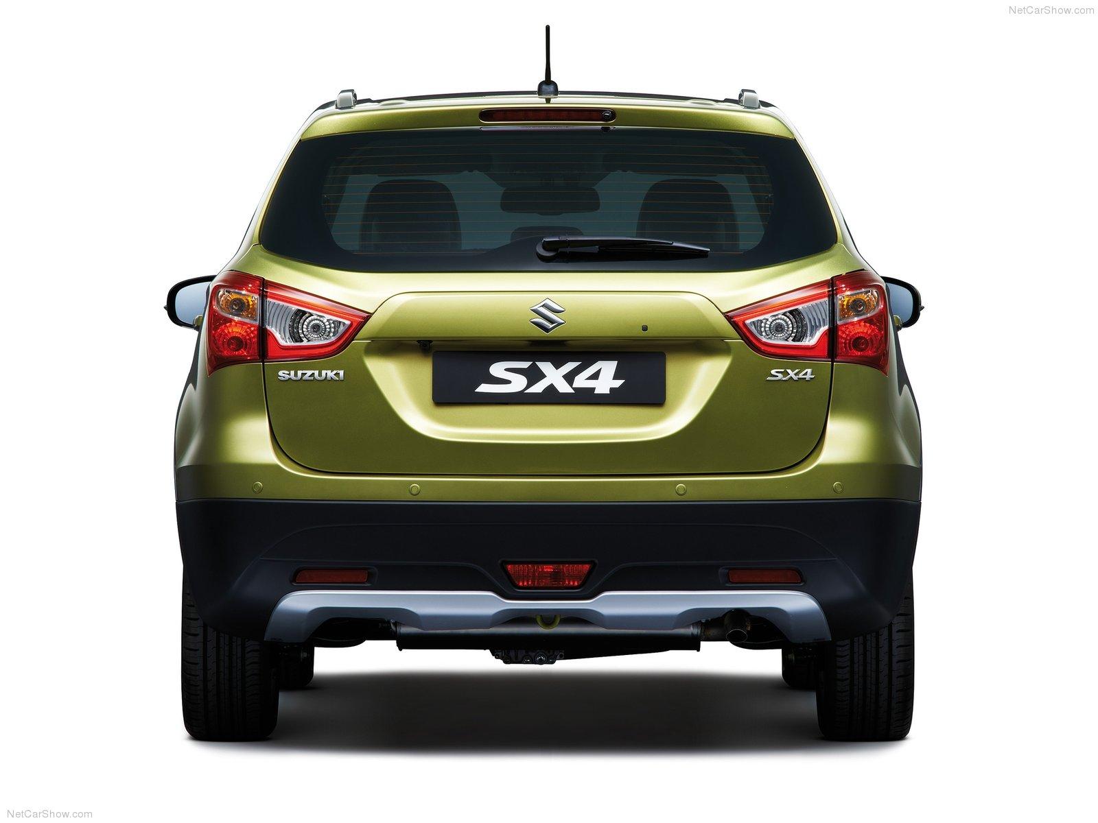 Hình ảnh xe ô tô Suzuki SX4 2014 & nội ngoại thất