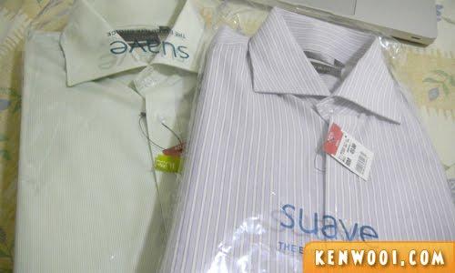 suave formal shirt