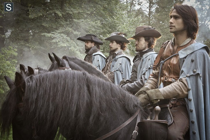 The Musketeers - Episode 1.10 - Musketeers Don't Die Easily - Finale Preview & Teasers