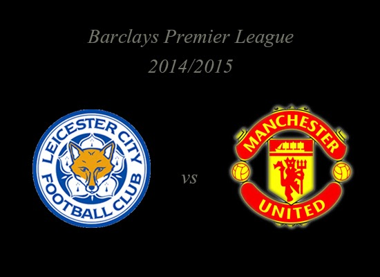Leicester City vs Manchester United Barclays Premier League 2014