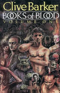 Portada de Books of Blood Volume One, de Clive Barker