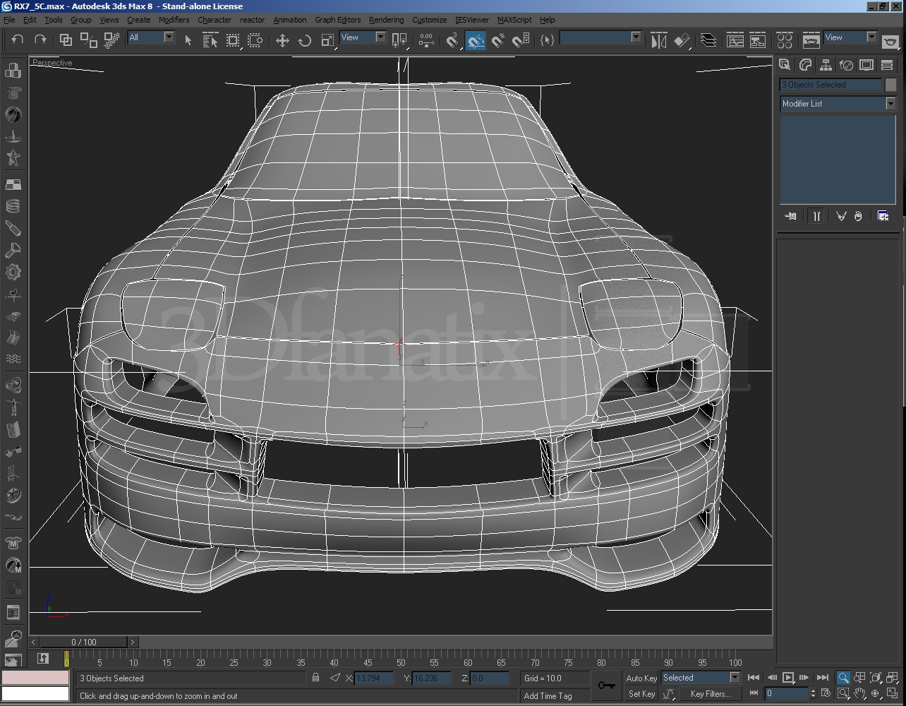 WIP Mazda RX-7 Veilside Project X ( car modelling PART 4 ...