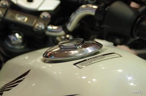 Honda CB 150R,rangka terkesan agak ribet photo by tmcblog.com